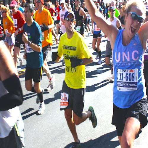 Connecticut runner competes in Boston Marathon