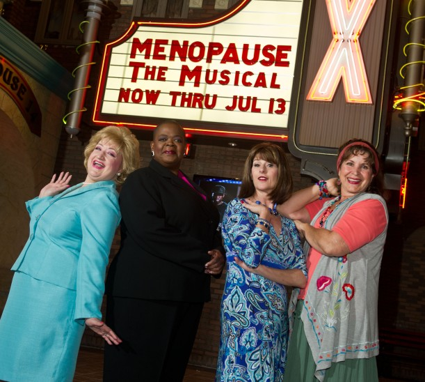 The fabulous performers in Menopause The Musical