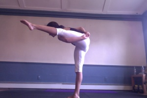 Bird of Paradise Pose Variation