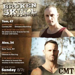 Tom vs Alex in Broken Skull Challenge