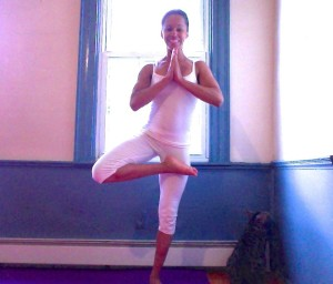 Renee Canada of The Mind-Body Shift in Tree Pose