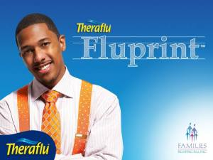 Nick Cannon and Theraflu Fluprint Program