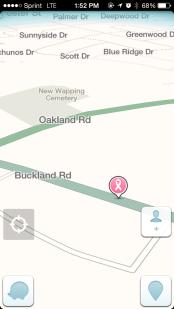 Breast Screening Location on Waze