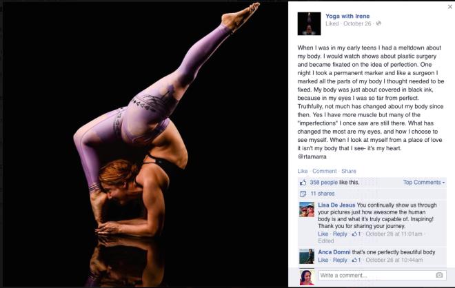 Yoga With Irene Body Image