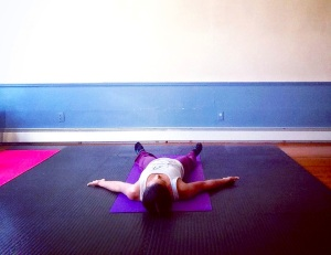 Yoga Pose Savasana