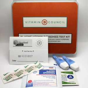 Vitamin D Council Test Kit