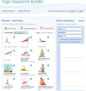 Designing Yoga Sequences