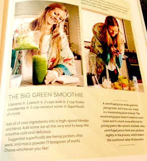 Yoga Girl Big Green Smoothie Recipe